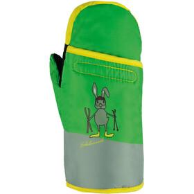 Roeckl Fex Handschoenen Kinderen, groen/grijs